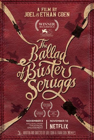 Ballad of Buster Scruggs, The Poster
