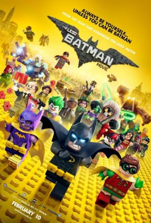 Lego Batman Movie, The Poster