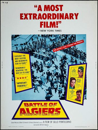 Battle of Algiers, The Poster