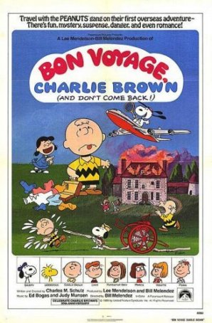 Bon Voyage, Charlie Brown Poster