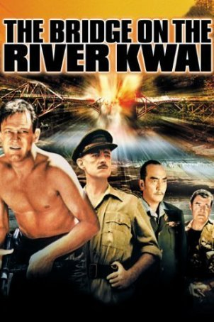 Bridge on the River Kwai, The Poster