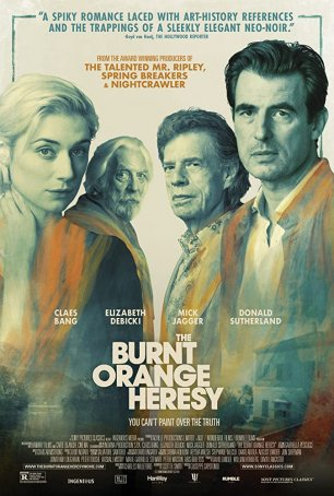 Burnt Orange Heresy, The Poster