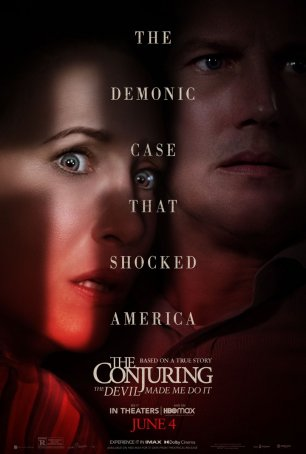 Conjuring, The: The Devil Made Me Do It Poster