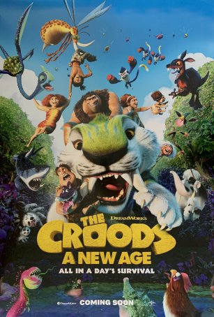 Croods, The: A New Age Poster