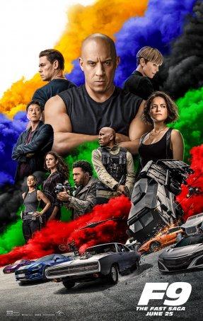 F9: The Fast Saga Poster