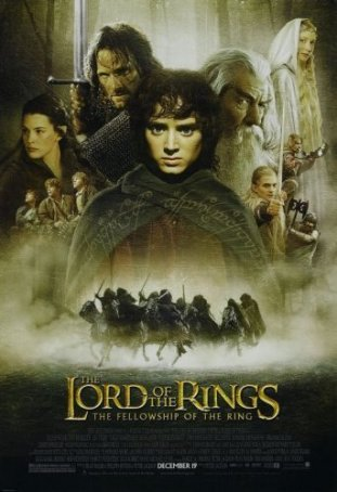 Lord of the Rings, The: The Fellowship of the Ring Poster