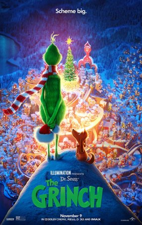 Grinch, The Poster