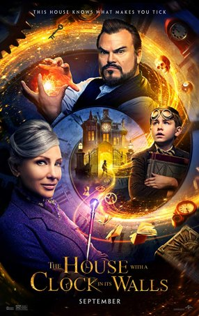 House with a Clock in its Walls, The Poster