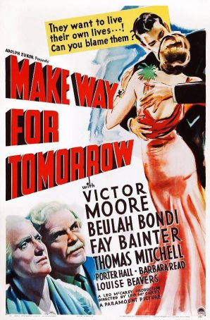 Make Way for Tomorrow Poster