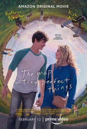 Map of Tiny Perfect Things, The Poster