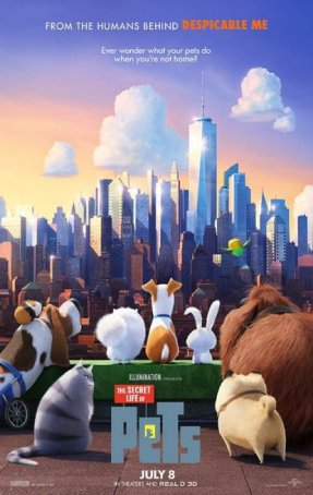 Secret Life of Pets, The Poster