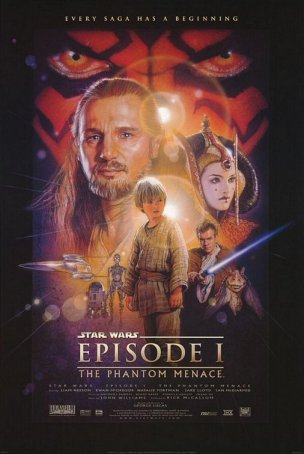 Star Wars: The Phantom Menace Poster