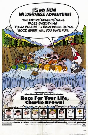 Race for Your Life, Charlie Brown Poster