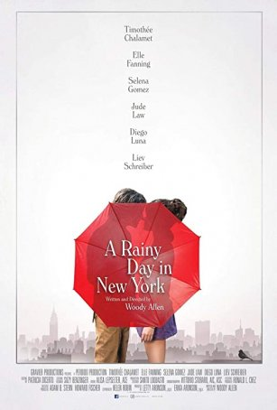 Rainy Day in New York, A Poster