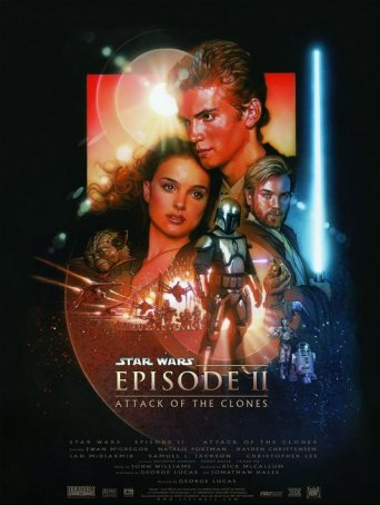 Star Wars: Attack of the Clones Poster
