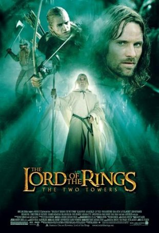 Lord of the Rings, The: The Two Towers Poster