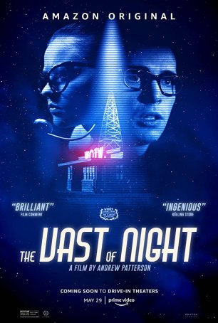 Vast of Night, The Poster